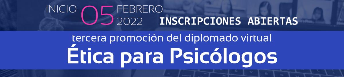 Participa en el Diplomado Ética para Psicólogos
